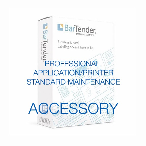 BarTender Professional - Application License - Standard Maintenance and Support (Per Year)