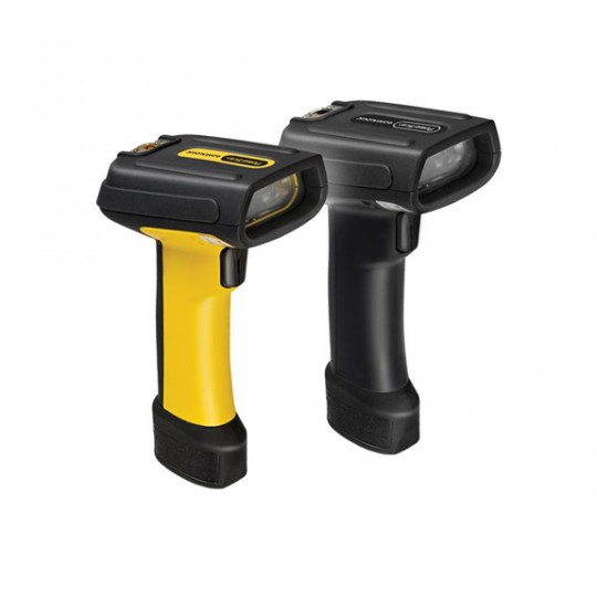Kit Datalogic PowerScan PD7130 Linear Imager, Amarillo/Negro, sin puntero, con cable USB