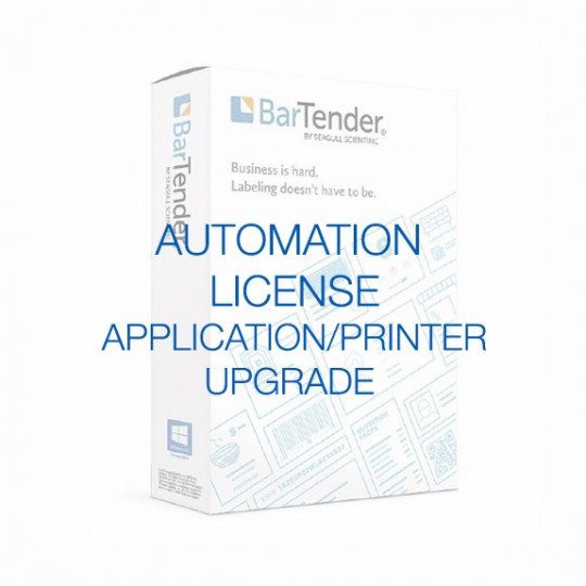 BarTender Automation - Application License (requires Printer Licenses)