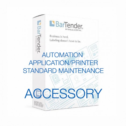 BarTender Automation - Application License - Standard Maintenance and Support (Per Year)