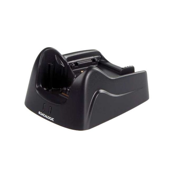 Single Slot Desk Mount Dock with Spare Battery Charging Datalogic Lynx
