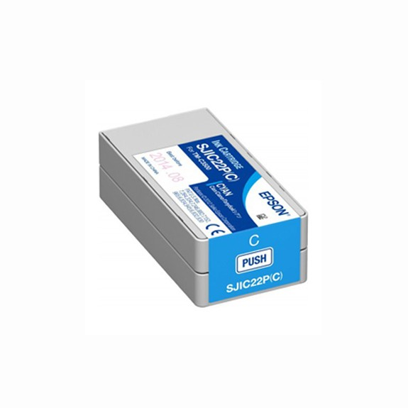 Ink Cartridge Epson TM-C3500 Cyan (SJIC22P)
