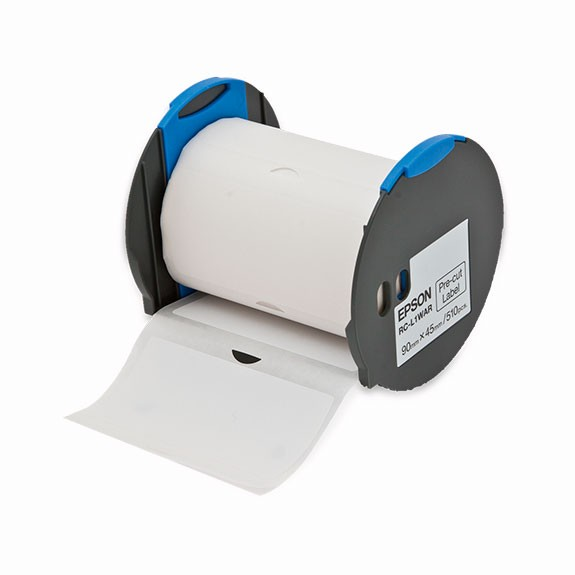 Epson Label RC-L1WAR white, black
