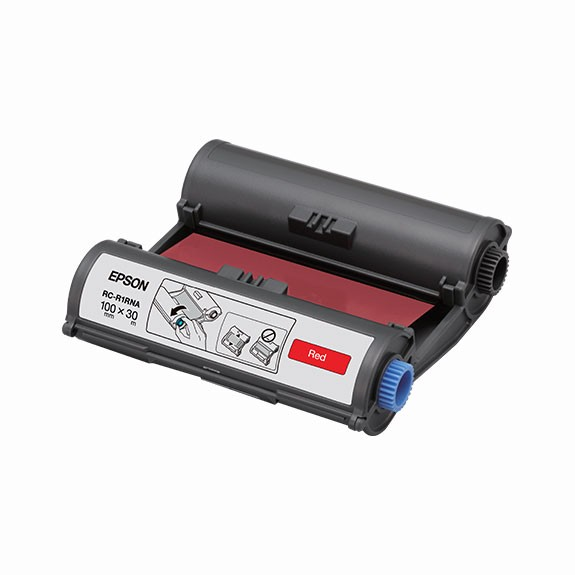 Epson Label RC-R1RNA red 100 mm