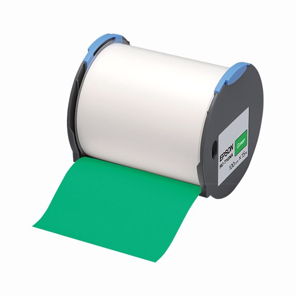 Epson Label  RC-T1GNA green 100 mm