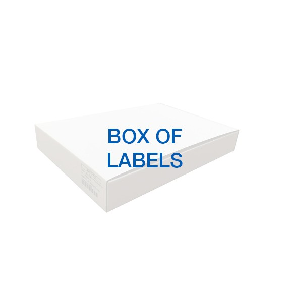 Box of 96.000 Labels 31x25mm White