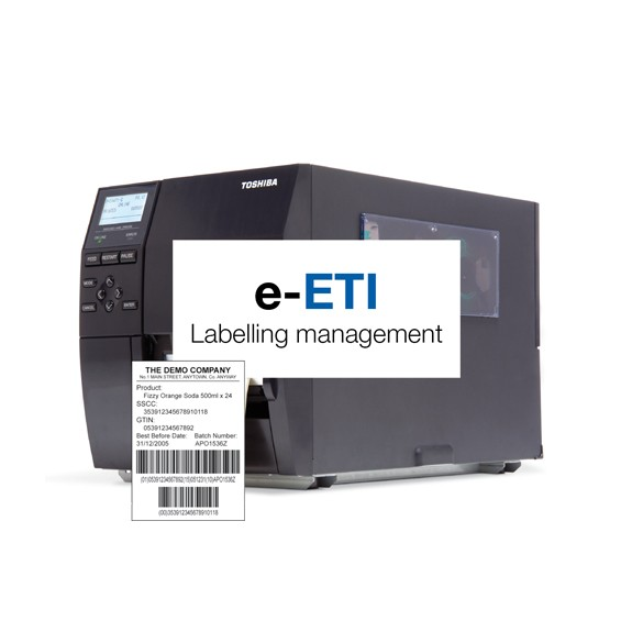 e-ETI Integration solution for labeling