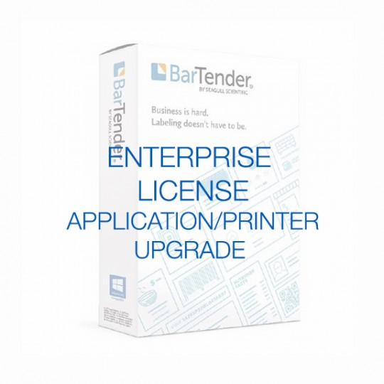 BarTender Enterprise - Application License (requires Printer Licenses)