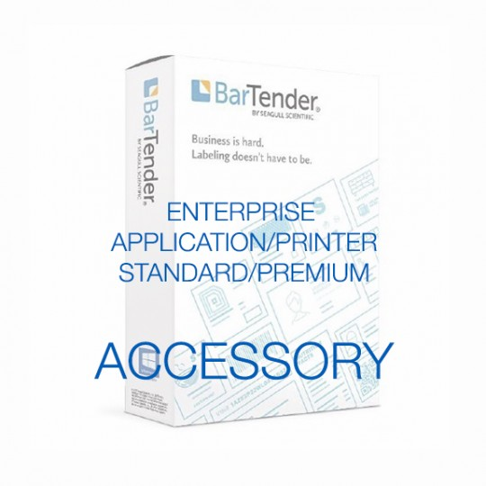 BarTender Enterprise - Application License - Standard Maintenance and Support (Per Year)